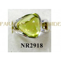 925 Sterling Silver Ring Lemon Quartz - NR2918
