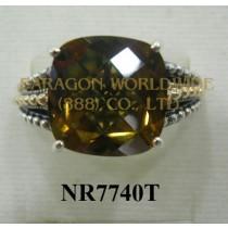925 Sterling Silver  & 14K Ring Congnac - NR7740T
